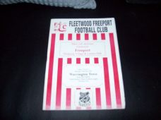 Fleetwood Freeport v Warrington Town, 1998/99